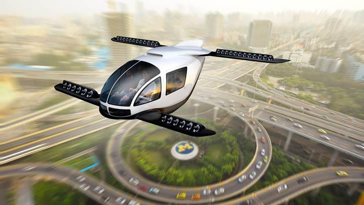 Çevre kirliliği, uçan araba teknolojisini etkileyebilir