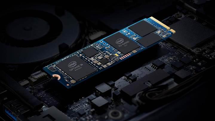 Intel Optane bellek ve QLC NAND depolama aynı yongada birleşiyor