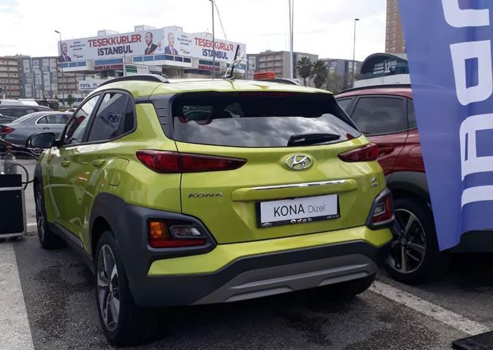 Hyundai Kona 1.6 lt dizel otomatik tanıtıldı: İşte fiyatı ve özellikleri