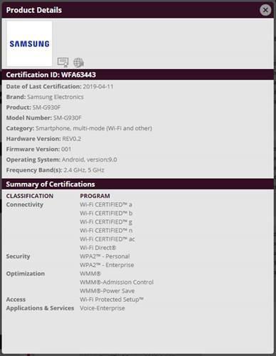 Samsung Galaxy S7, yakında Android Pie güncellemesi alabilir