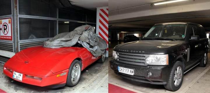 Atatürk Havalimanı otoparkında unutulan araçların sahipleri aranıyor [Galeri]