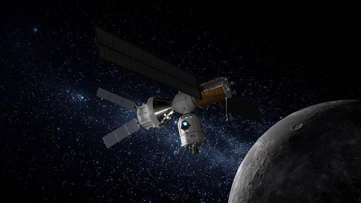 Lockheed Martin, insanları Ay'a indirecek uzay aracını tanıttı