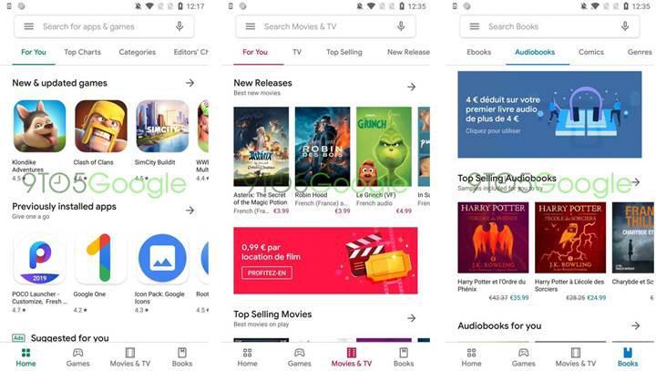 Google Play Store sonunda yeni Materyal Tasarım temasına kavuşuyor