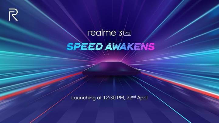Realme 3 Pro'nun tanıtılacağı tarih belli oldu
