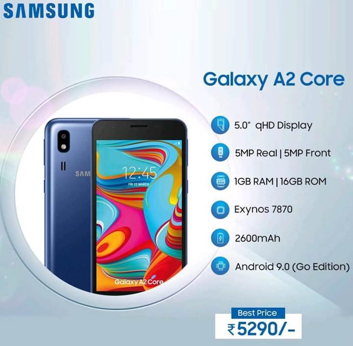 Samsung'dan 75$'a akıllı telefon