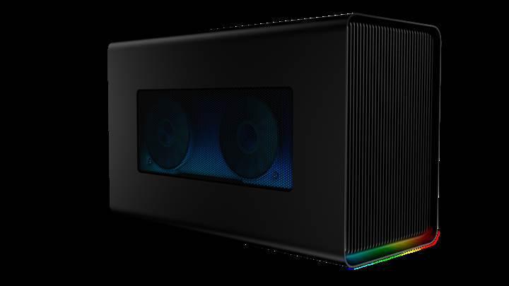 Yeni Razer Core X Chroma, RGB ışıklandırma ve Gigabit Ethernet ile geliyor