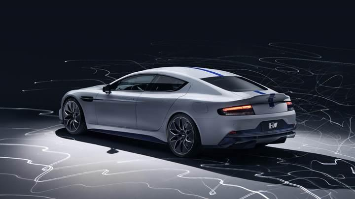 Aston Martin'in ilk elektrikli otomobili Rapide E tanıtıldı