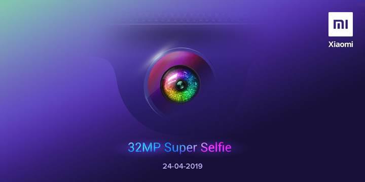 32 megapiksel ön kameralı Redmi Y3 için geri sayım başladı