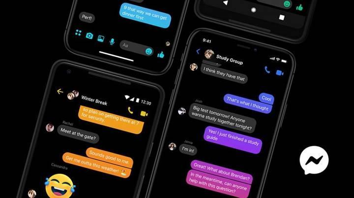 Facebook Messenger karanlık mod kullanıma sunuldu
