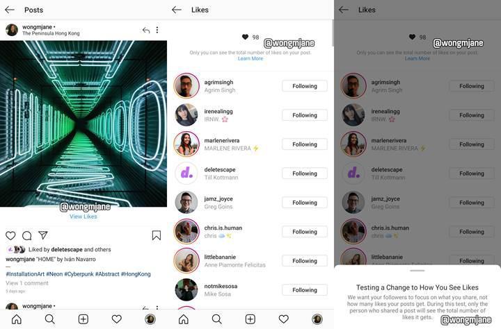 Instagram'da 'like' peşinde koşanların sonu geldi