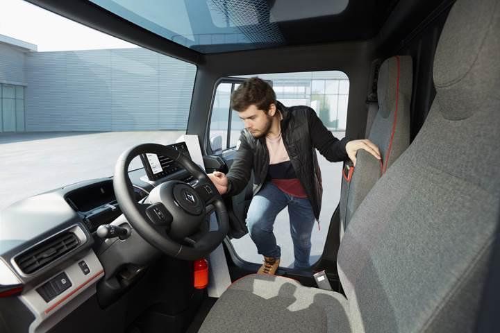 Renault, geleceğin ticari aracı EZ-FLEX'i görücüye çıkardı