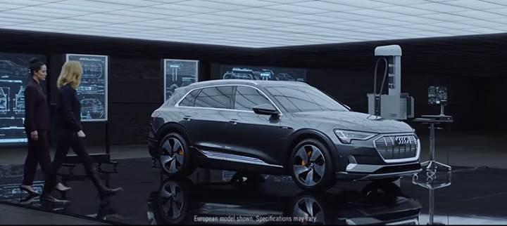 Captain Marvel ve Audi e-tron'u buluşturan yeni reklam filmi