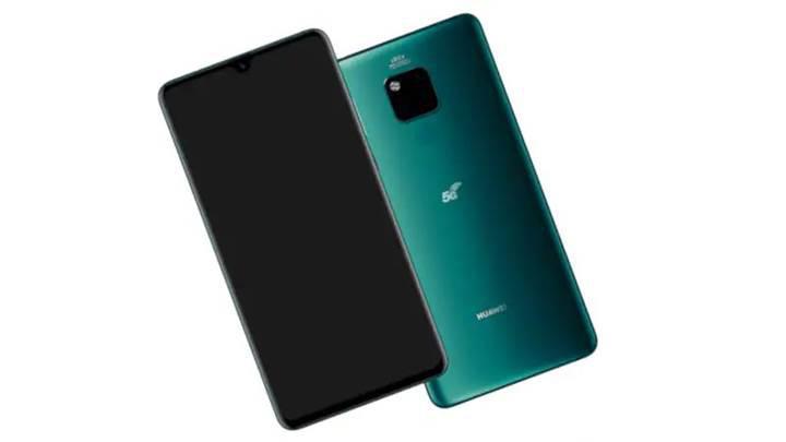 Huawei Mate 20 X 5G'nin basın görseli ve kutusu ortaya çıktı