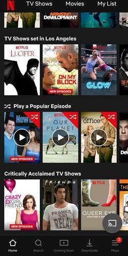 Netflix'e rastgele oynat seçeneği gelebilir