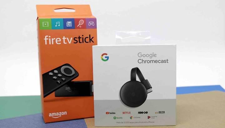 Google ve Amazon, akış uygulamaları konusunda anlaşmaya vardı