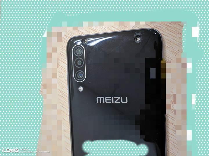 Meizu 16T'nin canlı görüntüsü sızdı
