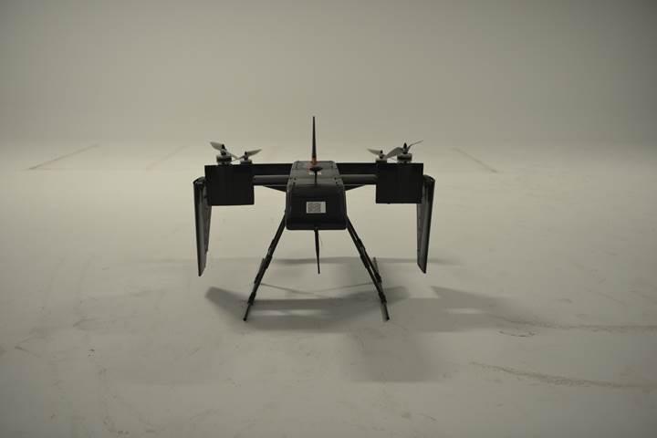 Türk şirketten 150 km hıza sahip 'değişken hacimli' drone