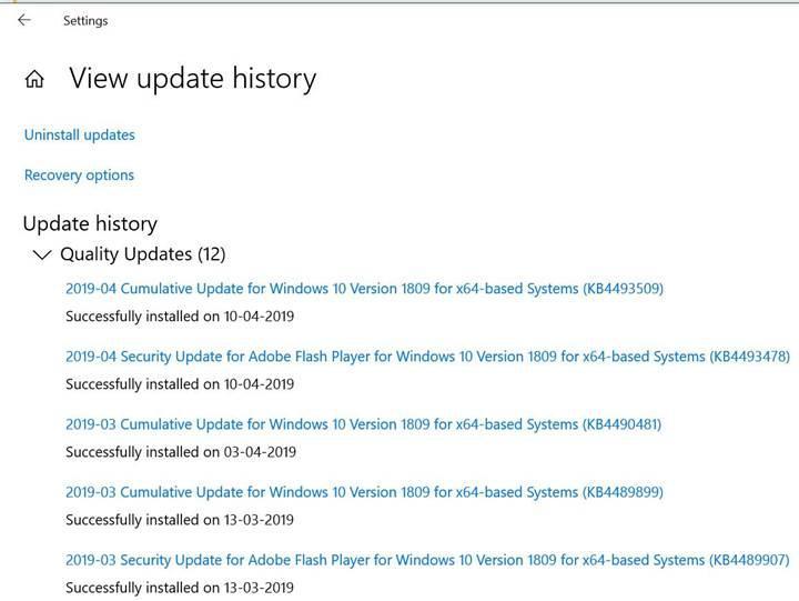 Son Windows 10 güncellemesi CSV'li sistemlerde donmaya neden oluyor