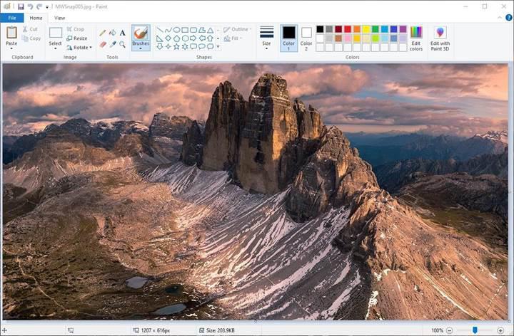 Microsoft, Paint uygulamasını Windows 10'dan kaldırma planından vazgeçti