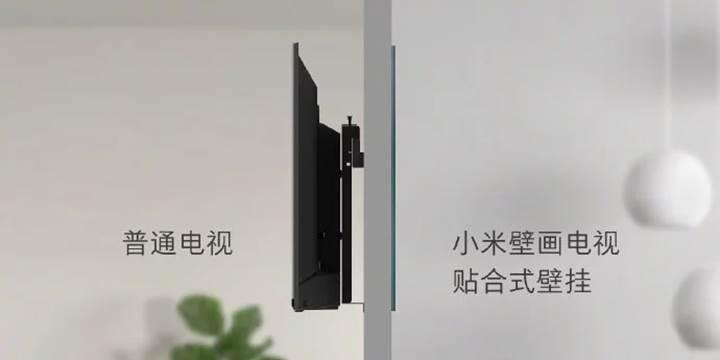 "Xiaomi'den 65 inç ""duvar kağıdı"" televizyon"