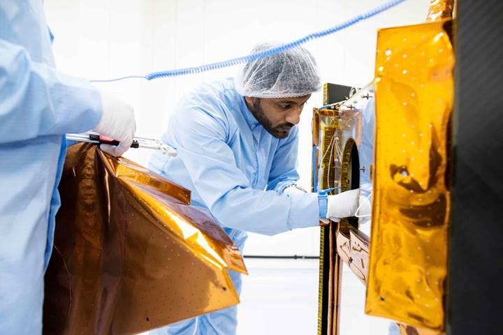 """Birleşik Arap Emirlikleri'nin """"Umut"""" adlı uzay aracı neredeyse göreve hazır"""