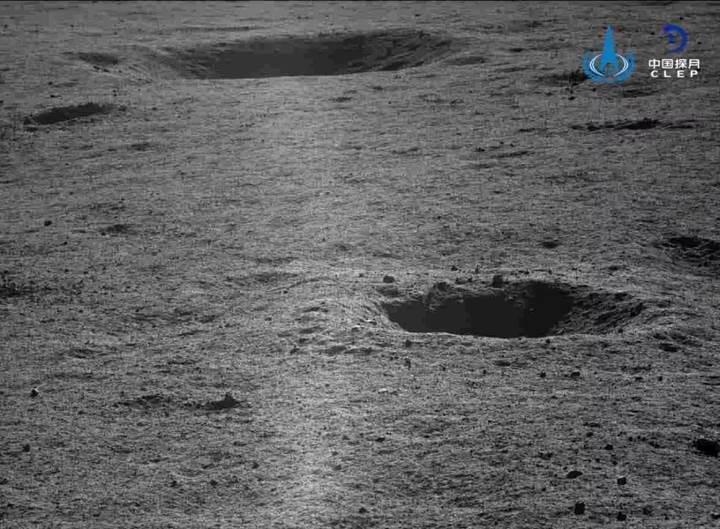 Çin, Ay'ın uzak yüzünden yeni fotoğraflar yayınladı