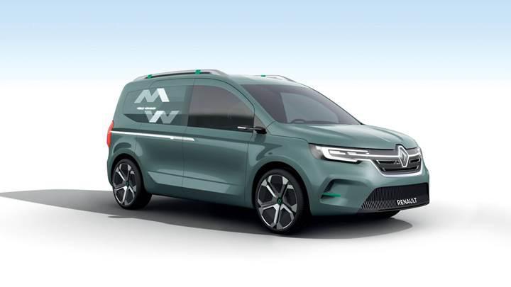 Elektrikli Renault Kangoo Z.E. konsepti tanıtıldı