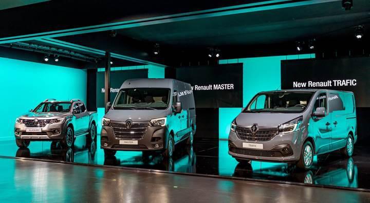 Makyajlanan 2019 Renault Master ve Trafic modelleri tanıtıldı