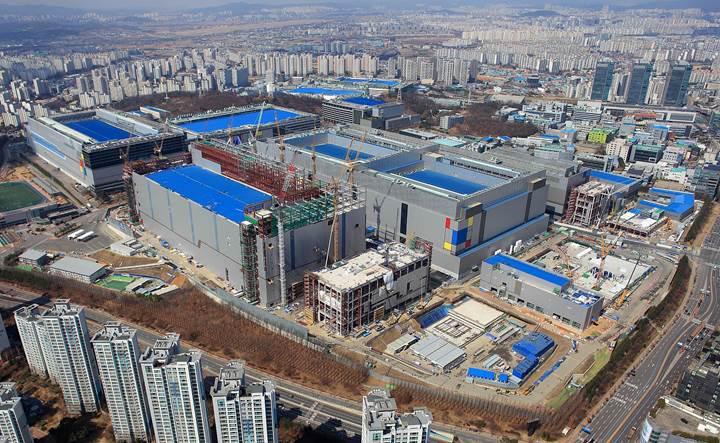 Samsung 2030 yılına kadar yonga üretimi ve Ar-Ge'sine 115 milyar dolar yatırım yapacak