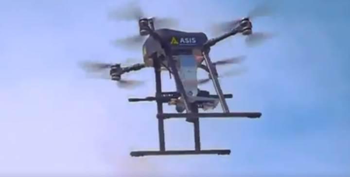 Türk savunma sanayi şirketi, makineli tüfek taşıyan 'Silahlı Drone' geliştirdi