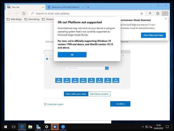 Chromium tabanlı Edge tarayıcısının macOS sürümü beklenenden erken gelebilir