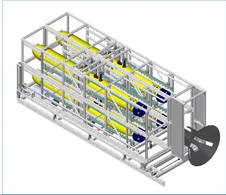 Otonom sualtı araçları için sualtı kenetlenme istasyonları geliştiriliyor