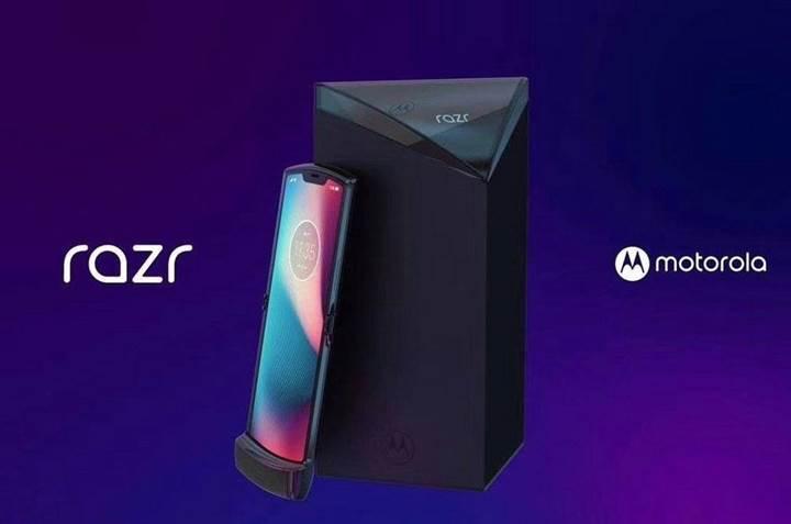Motorola Razr 2019'un basın görselleri