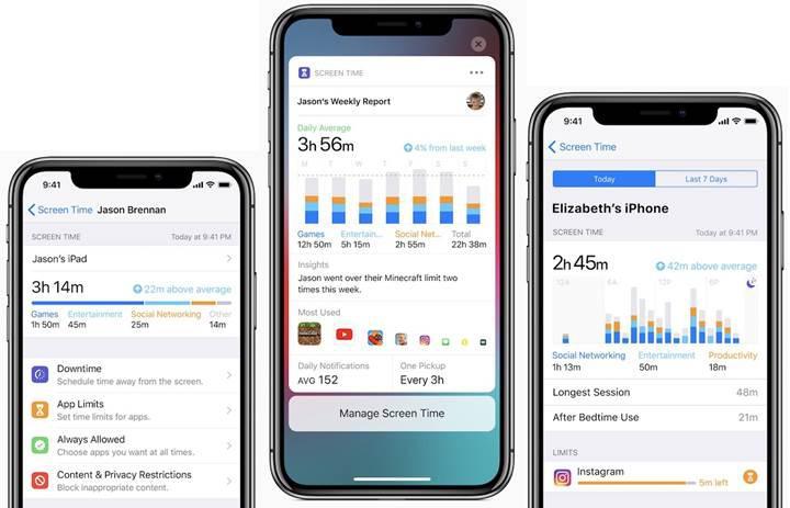 Apple, Ekran Süresi uygulamalarını yasaklıyor