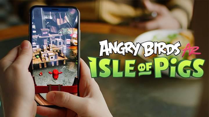 Angry Birds oyununun artırılmış gerçeklik (AR) versiyonu indirmeye sunuldu