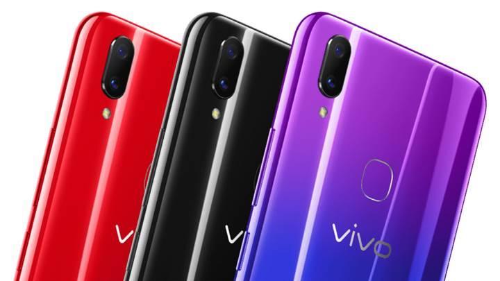 6.26 inç ekran ve çift arka kameralı Vivo Z3x tanıtıldı