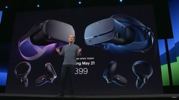Facebook, Oculus Quest ve Oculus Rift S VR gözlüklerinin çıkış tarihi açıkladı