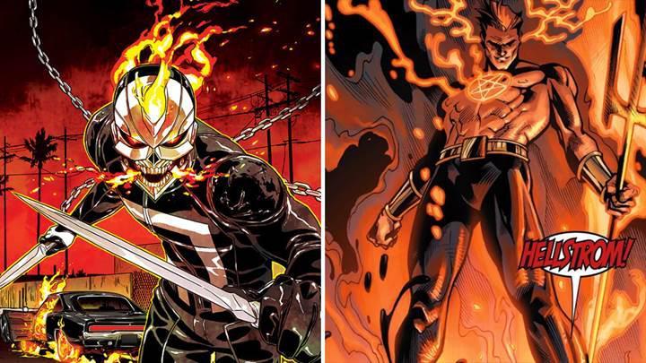 Marvel'dan iki yeni dizi duyurusu: Ghost Rider ve Helstrom