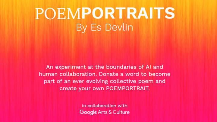 Google'dan, size özel şiirle portre resmi hazırlayan yapay zeka