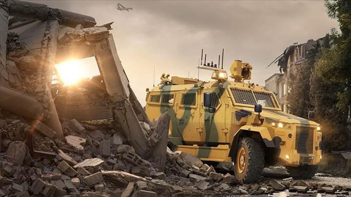 BMC'nin sürücüsüz zırhlı araç prototipi IDEF 2019'da sergilendi