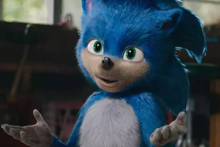 Sonic filmine gelen ağır eleştiriler sonrasında Paramount'tan geri adım