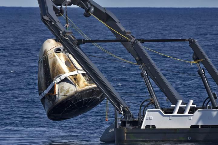 SpaceX, 'patlayan' uzay kapsülüyle ilgili ilk kez konuştu