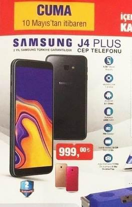 Haftaya A101 mağazalarında Honor 7S, BİM mağazalarında ise ilk kez Galaxy J4 Plus var