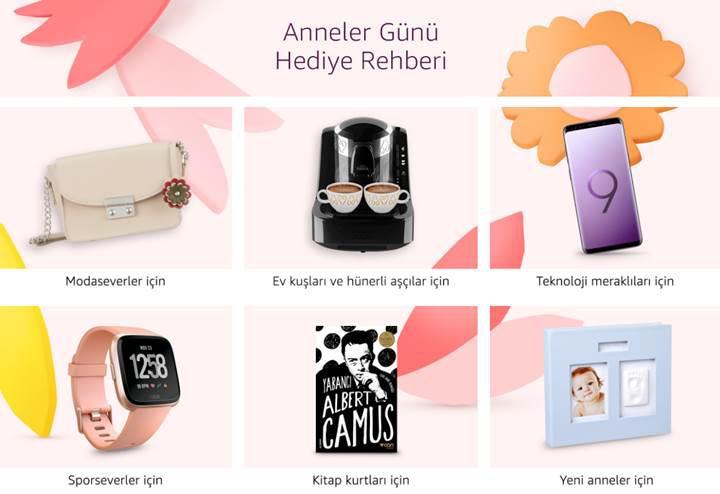 Amazon.com.tr'de Anneler Günü indirimleri başladı