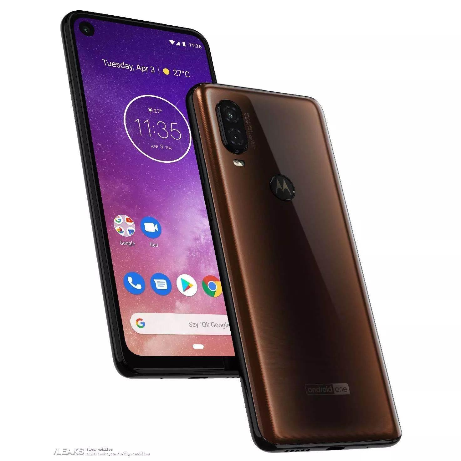 Delikli ekrana sahip Motorola One Vision, 15 Mayıs'ta tanıtılacak