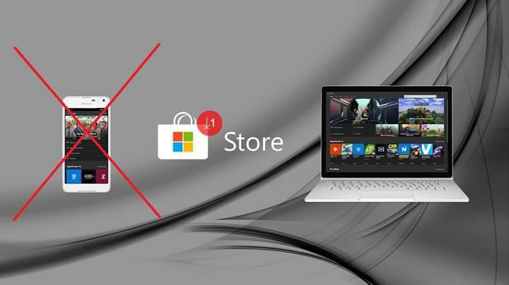 Microsoft Store uygulaması yakında Windows 10 Mobile platformunu desteklemeyecek