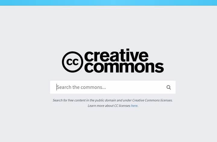Creative Commons'un görsel arama motoru hizmete başladı