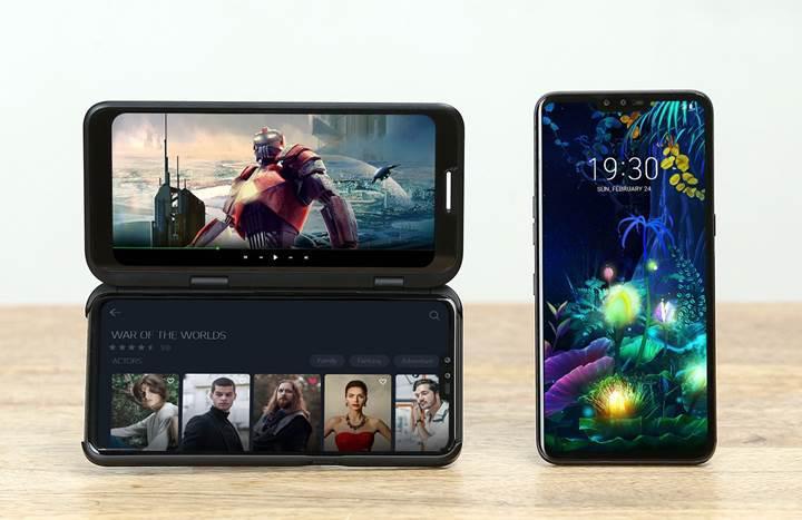 Çift ekranlı LG V50 ThinQ 5G bu hafta piyasaya sürülüyor