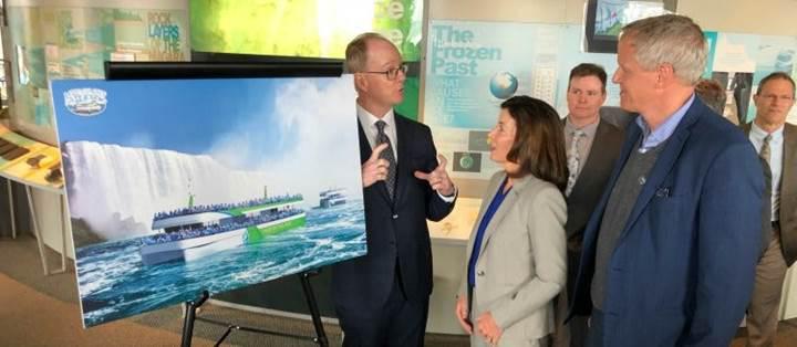 İlk tam elektrikli seyir tekneleri, Niagara Şelalelerinde hizmet verecek