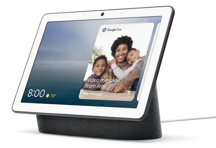 Google, 10 inçlik yeni akıllı ekranını tanıttı: Nest Hub Max